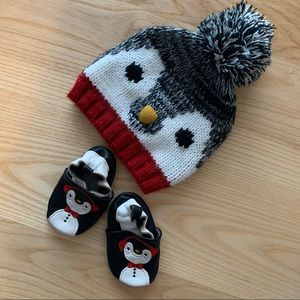 EUC Joe Fresh 0-6 month Penguin Set